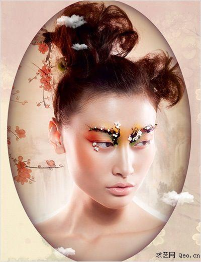 独特 优质彩妆造型培训机构主营:化妆培训,当日新娘化妆跟妆,舞台妆图片