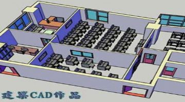�K州�侵行�^附件�W建筑�O�CAD施工�D 3DSMA